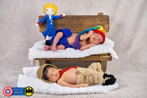 Newborn Mellizos Ortega